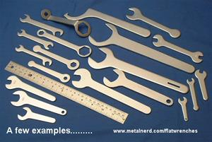 Sample Flat Wrench